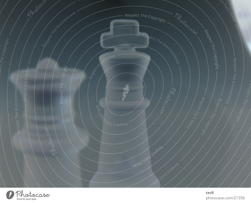 King with company Negative Progress Style Dark Macro (Extreme close-up) Close-up Lady Modern Chess piece