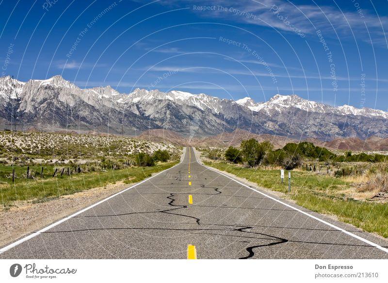 Sky Nature Vacation & Travel Loneliness Landscape Far-off places Mountain Street Lanes & trails Happy Freedom Contentment Trip Joie de vivre (Vitality)