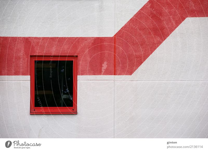 Town Window Architecture Wall (building) Building Wall (barrier) Facade Modern Simple Sharp-edged Zigzag