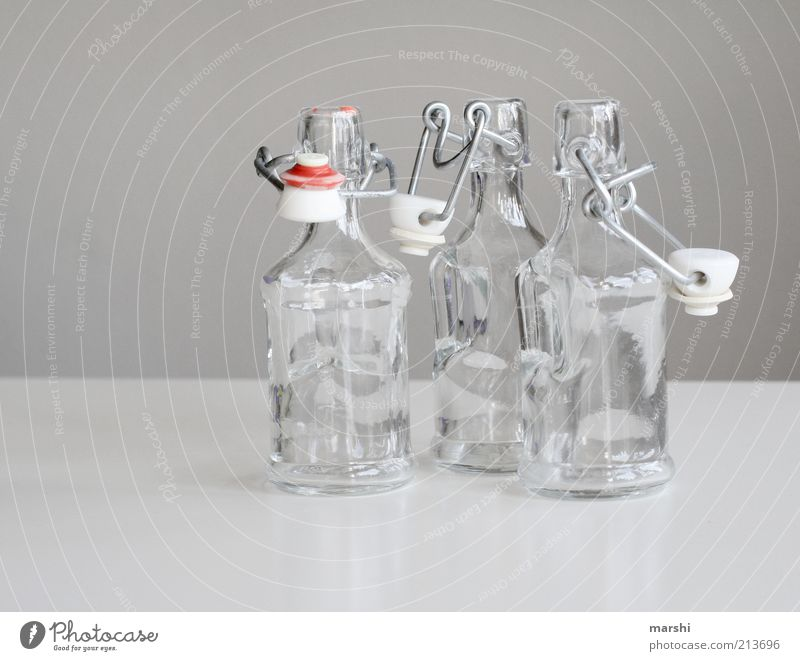 Old Gray Bright Glass Glass Empty Beverage Retro Open Clarity Bottle Still Life Neck of a bottle Containers and vessels Deposit bottle Glassbottle