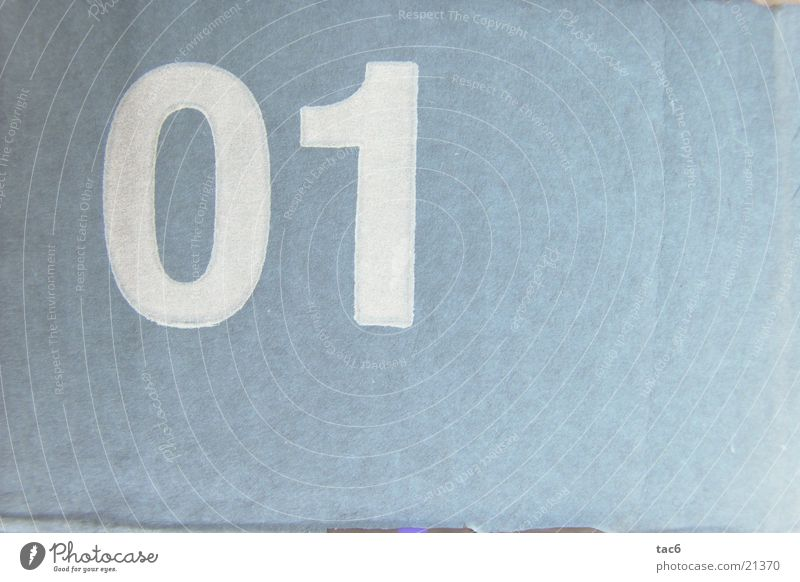 Style Digits and numbers Typography Photographic technology