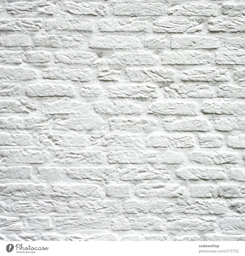 White Calm Wall (building) Wall (barrier) Clean Natural Brick Innocent Painted Neutral Minimalistic Purity Cleanliness Renovated