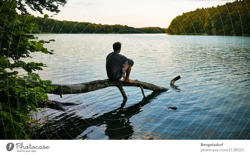 Lake break I Life Harmonious Well-being Contentment Senses Relaxation Calm Meditation Leisure and hobbies Vacation & Travel Tourism Trip Adventure