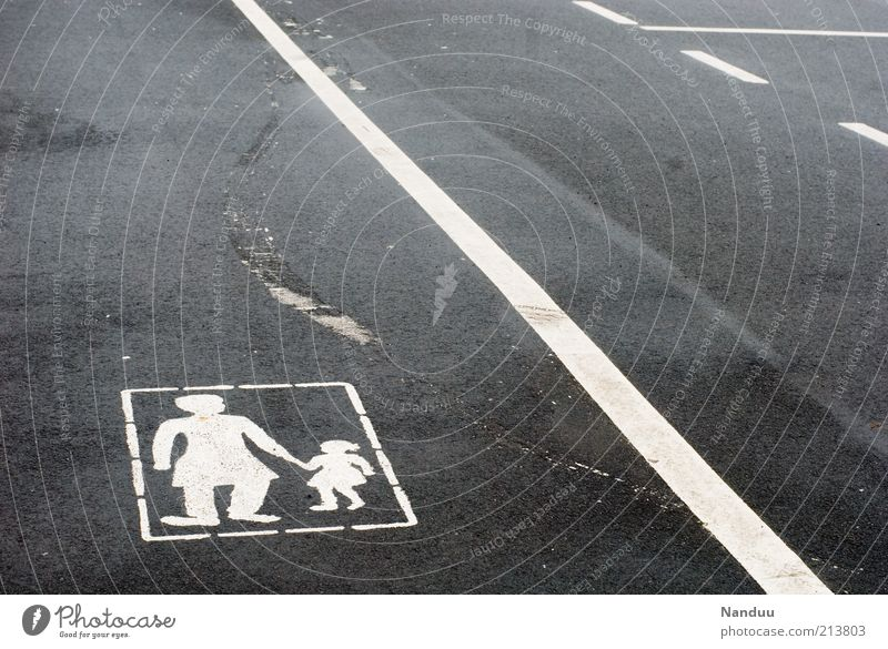 search for clues 2 Human being Transport Street Lane markings Gray Skidmark Child Woman Line Asphalt Pedestrian Lanes & trails Boundary Short Road safety