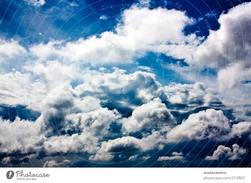 Nature Sky Blue Summer Vacation & Travel Clouds Far-off places Colour Life Freedom Bright Esthetic Soft Infinity Easy