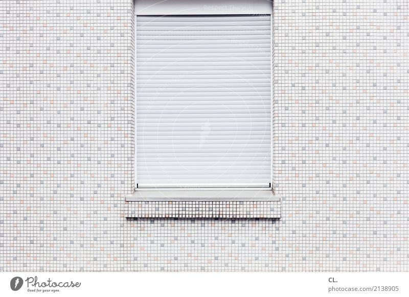 Loneliness House (Residential Structure) Window Architecture Wall (building) Cold Building Small Wall (barrier) Living or residing Protection Safety
