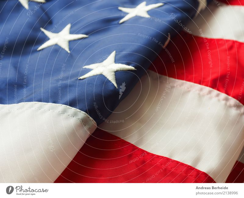 American Flag Tourism Stripe Responsibility High spirits USA white Nationalities and ethnicity blue folded red Symbols and metaphors united states textile