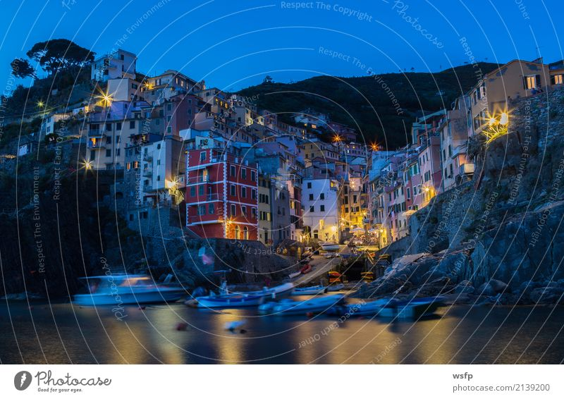 Landscape Ocean Architecture Lighting Coast Europe Historic Italy Village Old town Cliff Liguria Cinque Terre