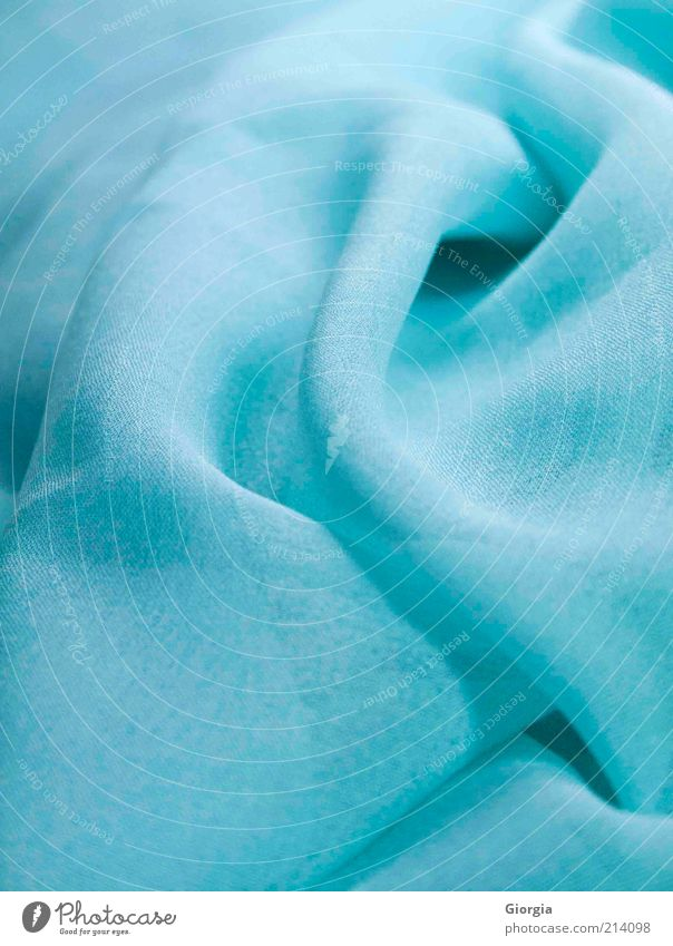 Blue Beautiful Calm Colour Style Elegant Modern Esthetic Clothing Simple Soft Turquoise Hip & trendy Scarf Accessory