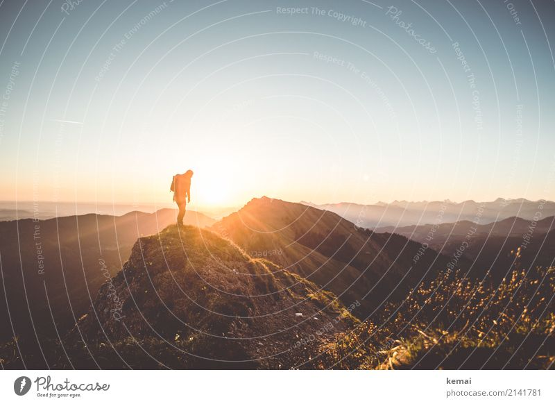 Good dawning to thee, friend. Life Harmonious Calm Leisure and hobbies Vacation & Travel Trip Adventure Far-off places Freedom Mountain Hiking Human being 1