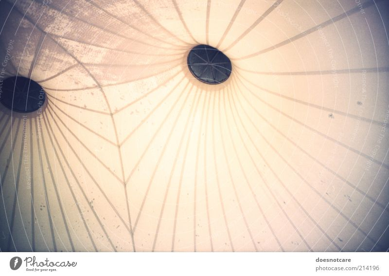 Line Bright Architecture Background picture Roof Analog Hollow Lomography Symmetry Abstract Vignetting Ventilation X-rayed Tent ceiling
