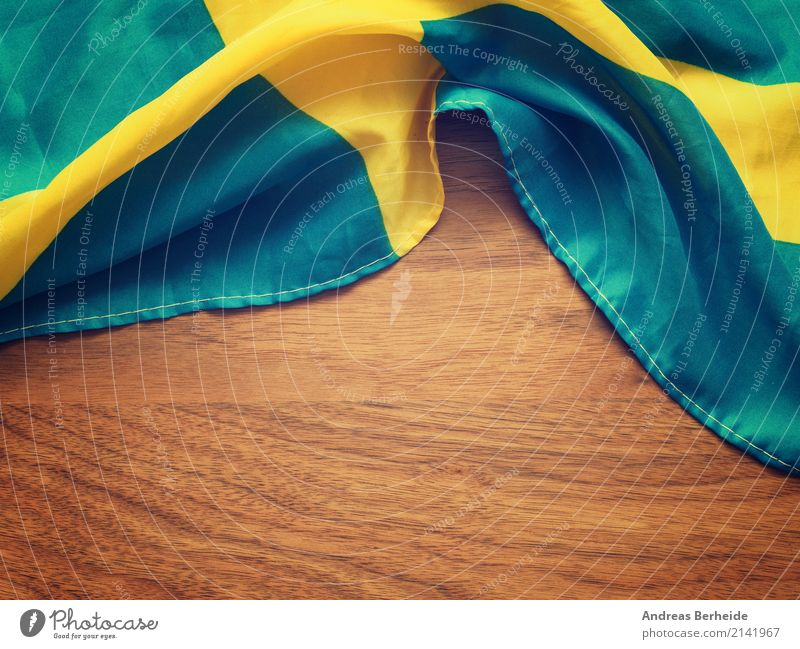 Swedish flag Vacation & Travel Tourism Business Nationalities and ethnicity Symbols and metaphors wooden fabric state patriotism independence Scandinavia