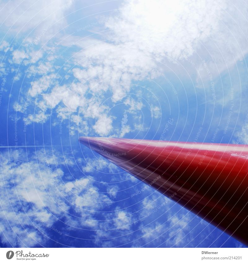 Sky Red Clouds Style Freedom Bright Background picture Design Future Target Exceptional Dynamics Upward Column Vertical