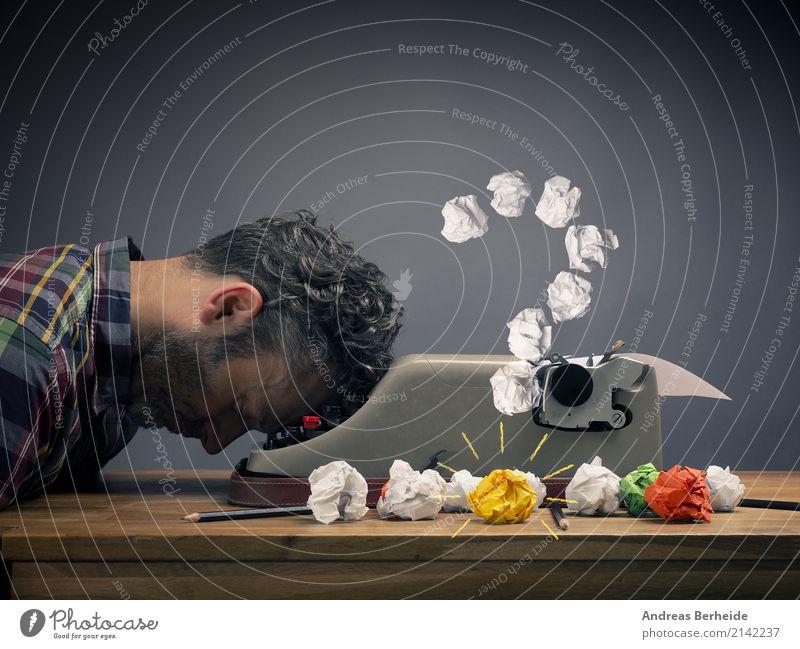 Human being Man Calm Adults Business Masculine Office Power Success Idea Sleep Break Symbols and metaphors Serene Inspiration Workshop
