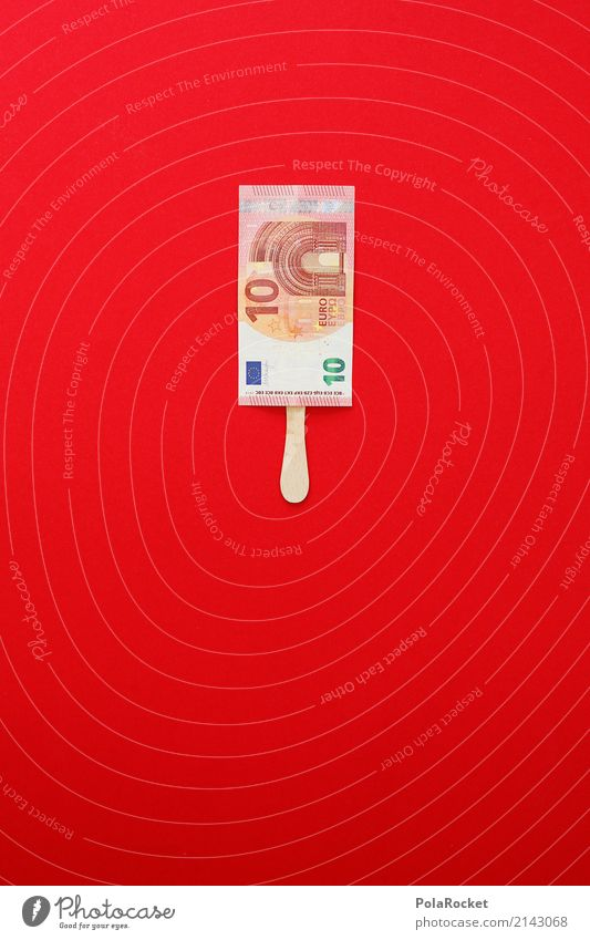 Red Style Art Ice Esthetic Creativity Success Idea Illustration Money Graphic Financial institution Bank note 10 Consumption
