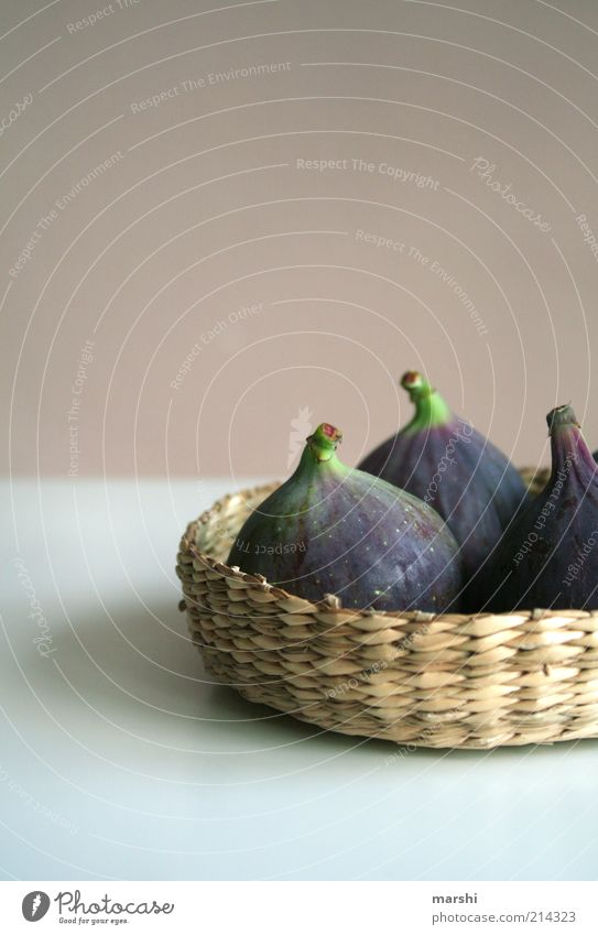 Green Nutrition Food Fruit Violet Decoration Delicious Basket Things Fig