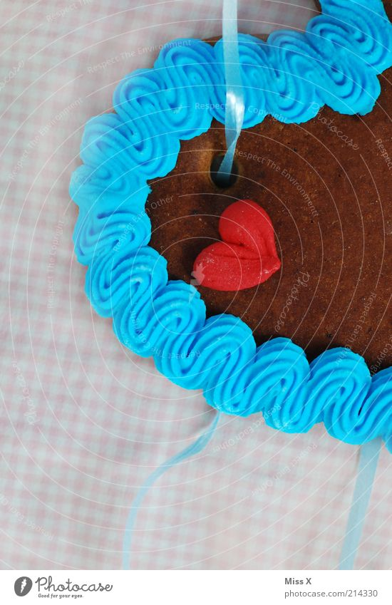 Wiesn-Mitbringsel Food Candy Oktoberfest Fairs & Carnivals Delicious Sweet Dry Multicoloured Emotions Love Infatuation Romance Gift Heart Sugar Icing Decoration