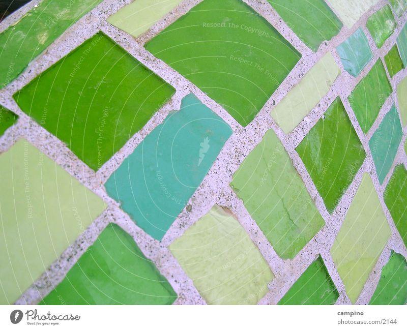 Green Glass Living or residing Tile