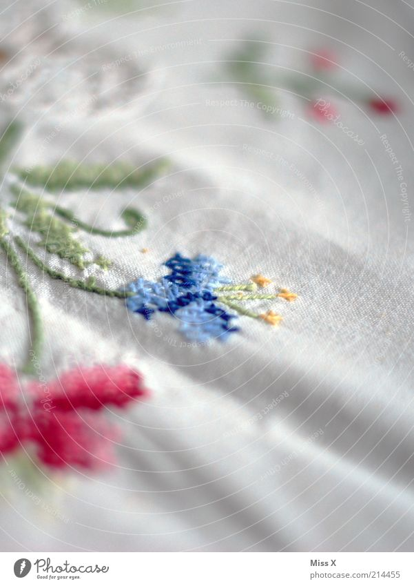 Old White Decoration Clean Living or residing Cloth Wrinkles Nostalgia Noble Folds Purity Linen Handcrafts Cleanliness Embroider
