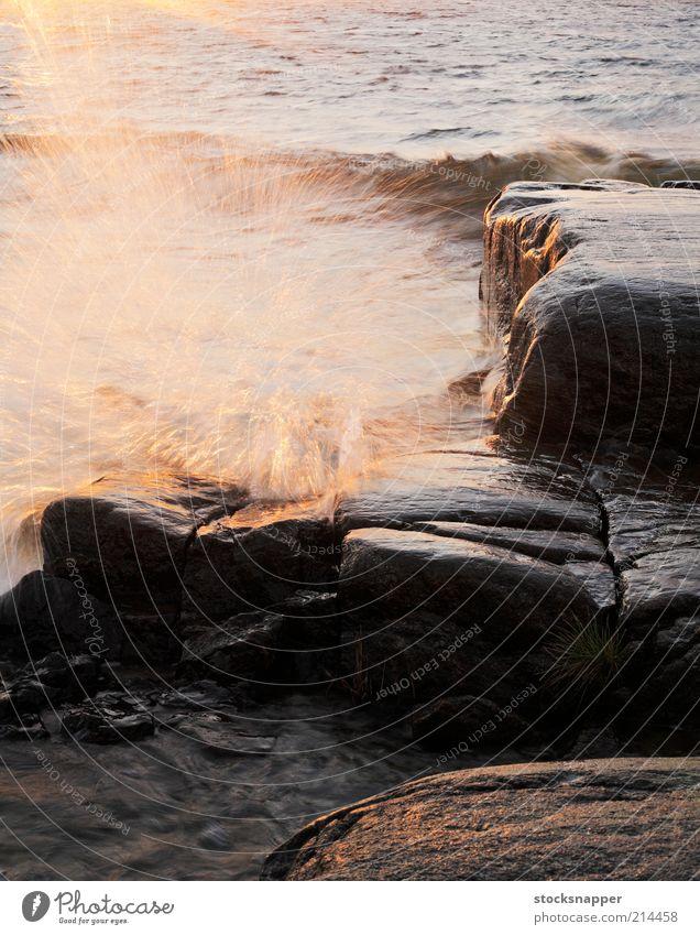 Waves Water Ocean Landscape Coast Wind Wet Rock Drop Storm Finland Scandinavia Spray