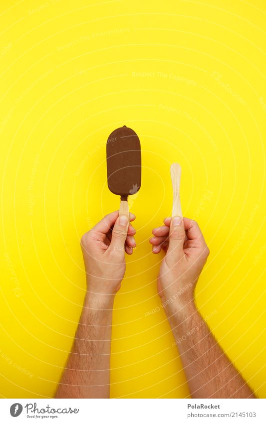 #AS# East-West Art Work of art Esthetic Ice Information Ice cream Ice age Delicious Unhealthy Predict afterwards Before Chocolate Chocolate ice cream Yellow