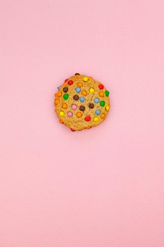 Healthy Eating Dish Food photograph Art Pink Esthetic Infancy Break Delicious Baked goods Cookie Self-made Snack Unhealthy Calorie