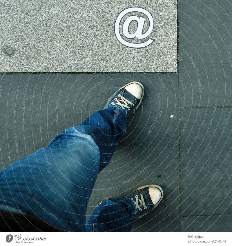 Human being Style Feet Legs Design Lifestyle Internet Modern Network Jeans Technology Communicate Characters Telecommunications Advertising Sign