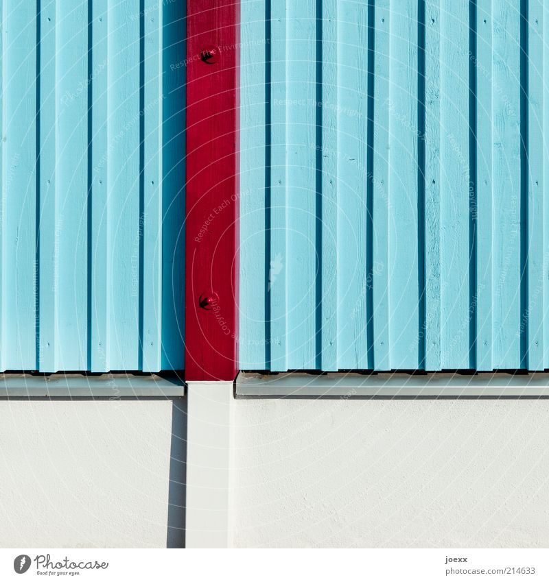 Blue Wall (building) Wood Gray Wall (barrier) Line Brown Stripe Wooden board Vertical Tin Foundations Joist Light blue Wooden facade