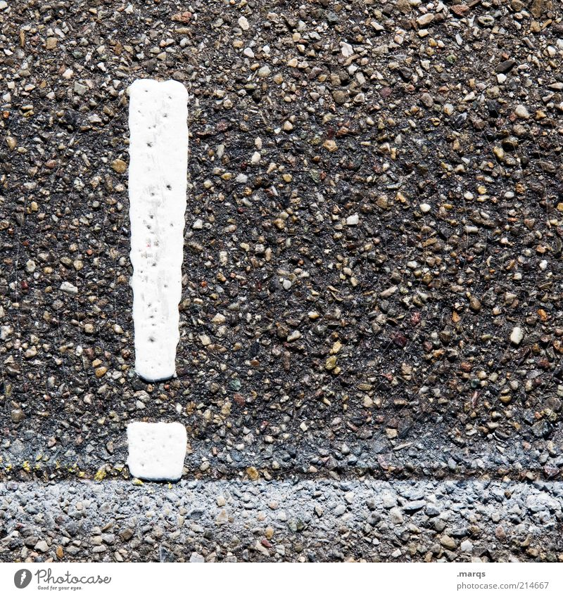 Street Stone Signs and labeling Transport Dangerous Characters Asphalt Watchfulness Warning label Science & Research Attentive Road sign Symbols and metaphors