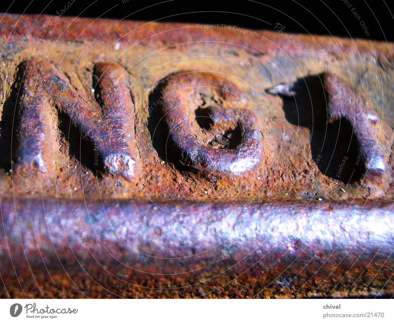 Technology Characters Direction Rust Iron Gully Sewer Electrical equipment