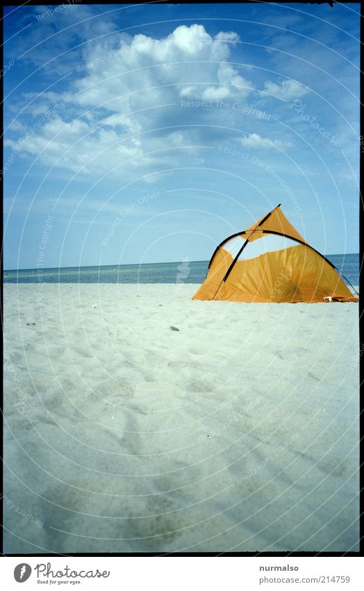 Nature Beautiful Ocean Summer Beach Vacation & Travel Far-off places Yellow Relaxation Sand Landscape Coast Environment Trip Tourism Leisure and hobbies