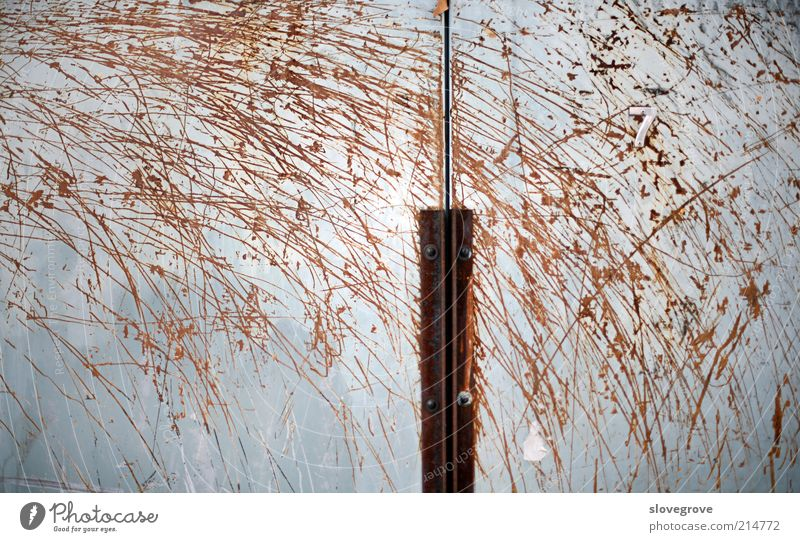 Rust Patterns Wall (building) Building Wall (barrier) Design Steel Consistency Baden-Wuerttemberg Decay