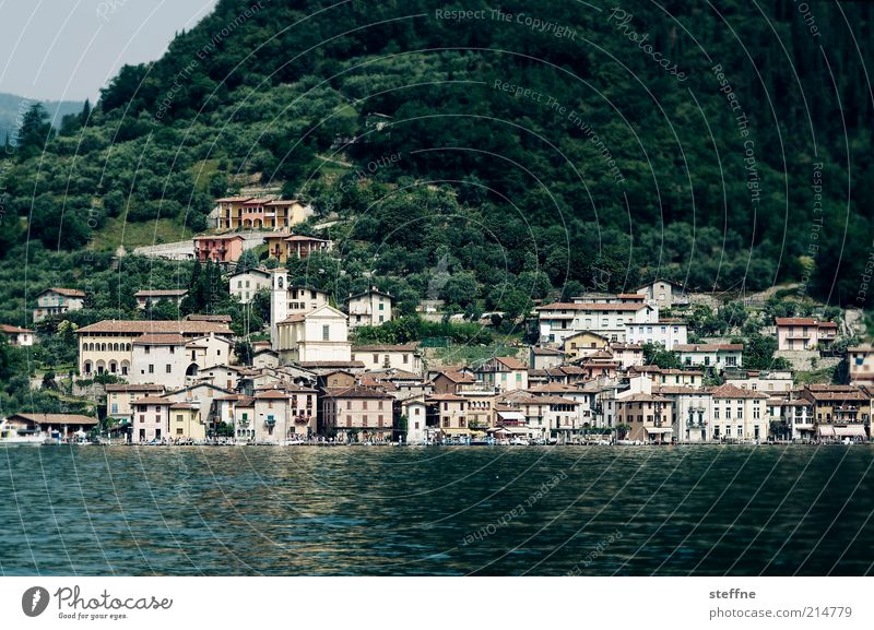 Vacation & Travel House (Residential Structure) Coast Travel photography Italy Village Lakeside City Port City