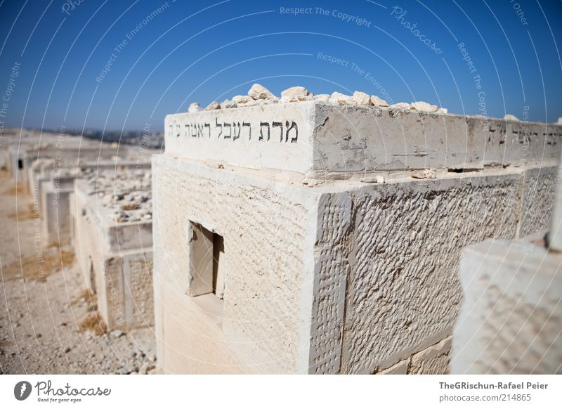 sepulcher Vacation & Travel Tourism Far-off places City trip Summer Summer vacation Culture Beautiful weather West Jerusalem Israel Town Hot Foreign Cemetery