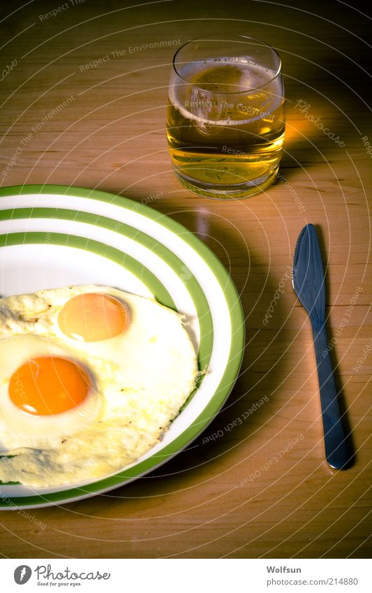 Old Calm Dark Brown Glass Food Poverty Nutrition Good Simple Drinking Beer Appetite Delicious Plate Egg