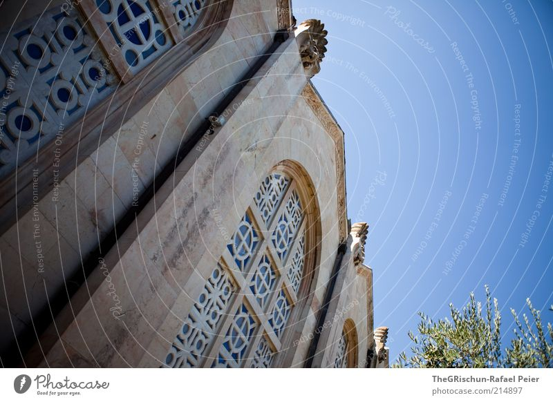 church of all nations Vacation & Travel Tourism Far-off places Sightseeing Summer vacation Work of art Culture Beautiful weather West Jerusalem Israel Hot Blue