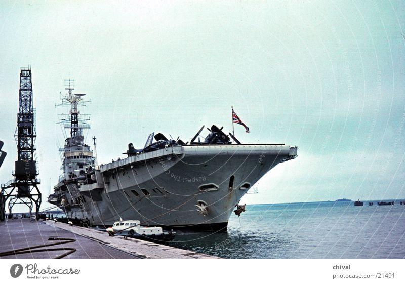 Ocean Watercraft Airplane Europe Navy Harbour Crane Sightseeing Mole Aircraft carrier Warship