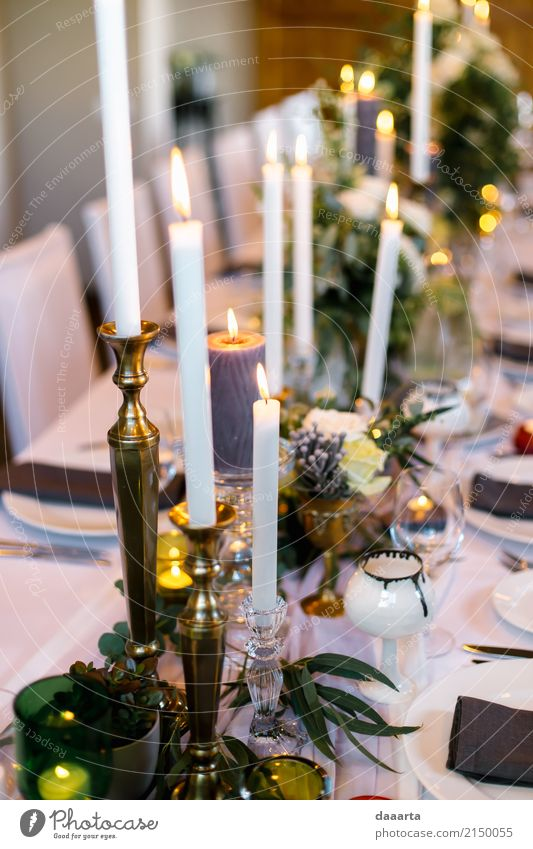 candle lit dinner Plant Flower House (Residential Structure) Joy Life Lifestyle Interior design Style Freedom Lamp Party Feasts & Celebrations Design