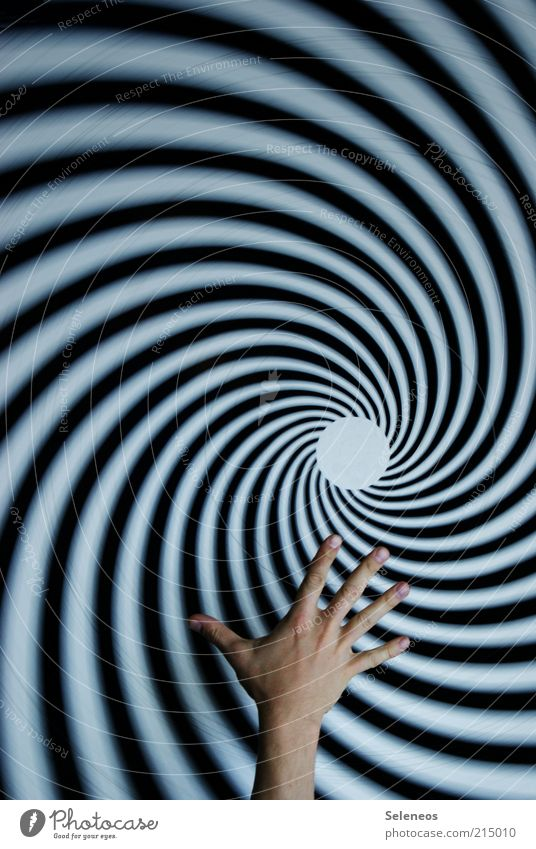Human being Hand Signs and labeling Fingers Round Rotate Reaction Rotation Swirl Artificial Distorted Hypnotic Suction Tunnel vision
