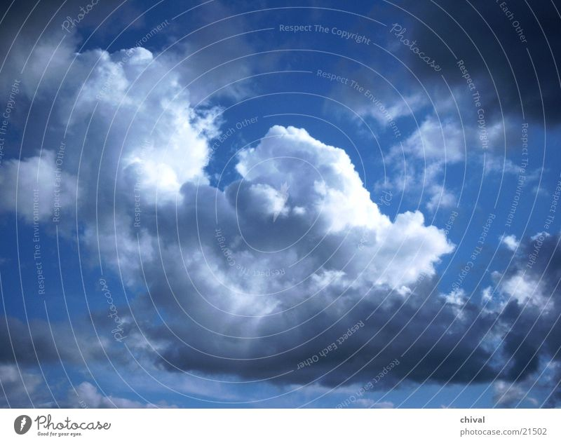 Sky White Sun Blue Summer Clouds Gray Weather Climate Thunder and lightning