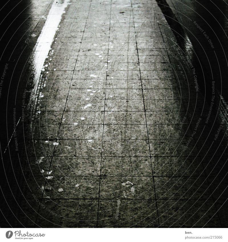 Calm Dark Lanes & trails Dirty Wet Authentic Tile Eerie