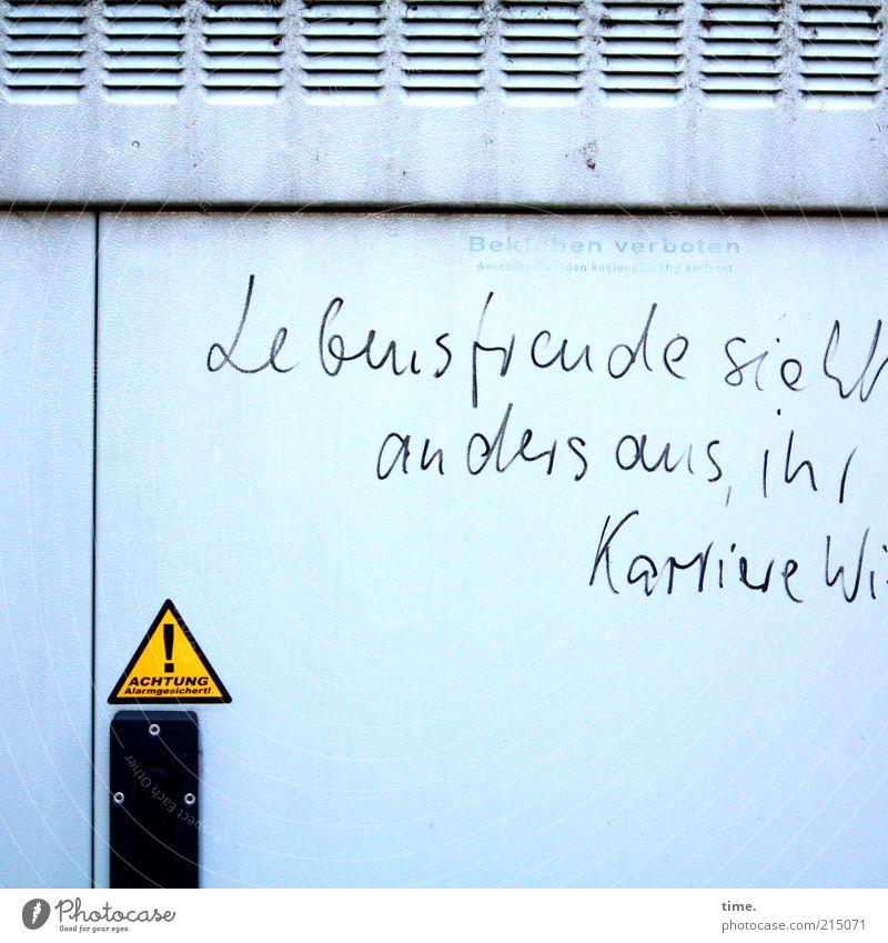 Gray Graffiti Door Environment Energy Energy industry Electricity Open Joie de vivre (Vitality) Joy Box Signage Tension Street art Warning label Economy