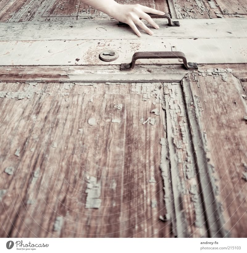Hand Old Loneliness Wood Brown Metal Arm Door Time Fingers Closed Retro Change Touch Decline Rust