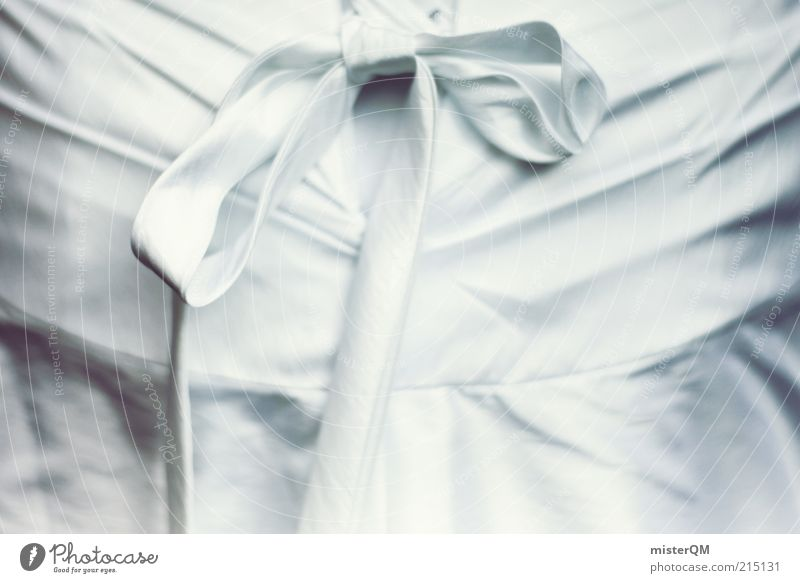 Already a dress? Art Esthetic Elegant Mysterious Culture Ease Wedding ceremony Dress Bow White Cloth Decoration Bundle Colour photo Subdued colour Exterior shot