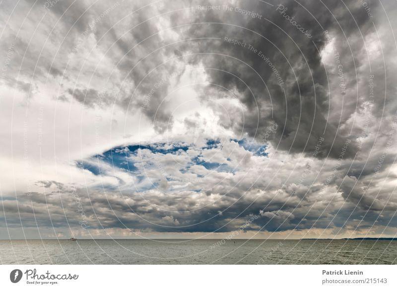 Fear of the dark Nature Water Sky Ocean Clouds Dark Gray Rain Landscape Air Coast Waves Wind Weather Environment Wet