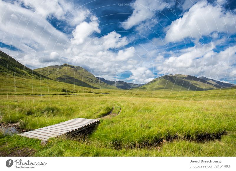 place of tranquillity Vacation & Travel Trip Adventure Expedition Camping Nature Landscape Sky Clouds Spring Summer Beautiful weather Meadow Hill Rock Mountain
