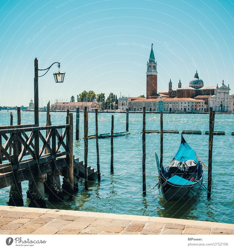 Vacation & Travel Old Summer Beautiful Ocean Tourism Watercraft Church To enjoy Italy Tower Summer vacation Harbour Lantern Old town City trip