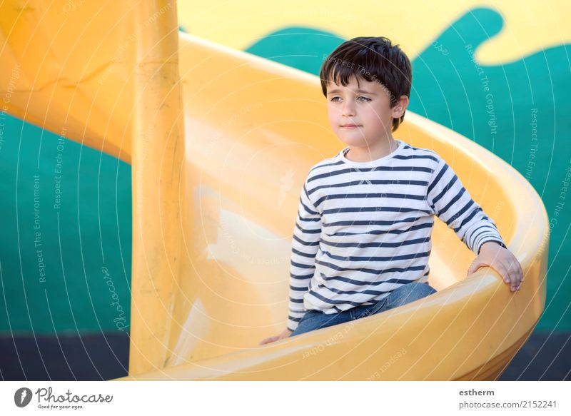 Child in playground Human being Vacation & Travel Loneliness Lifestyle Emotions Playing Happy Freedom Leisure and hobbies Infancy Sit Beginning Adventure