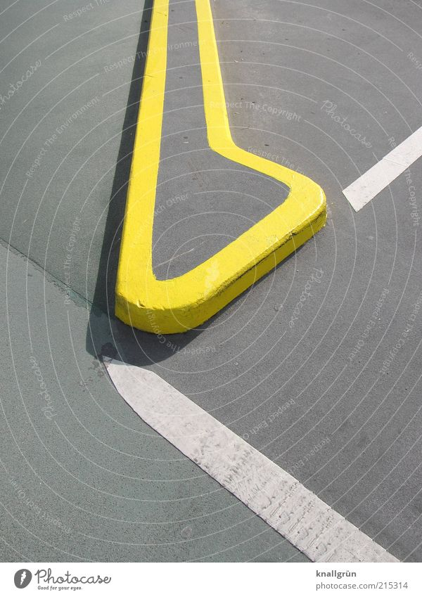 White Yellow Gray Line Architecture Signs and labeling Safety Corner Round Asphalt Border Division Parking lot Section of image Parking space