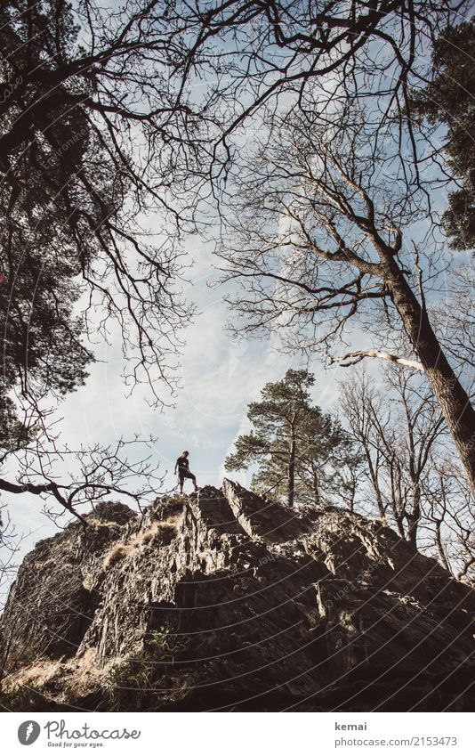 summitstümer Lifestyle Harmonious Well-being Contentment Relaxation Calm Leisure and hobbies Adventure Freedom Hiking Human being 1 Nature Sky Clouds